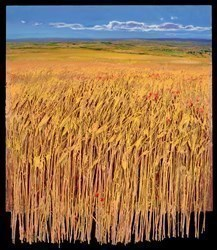 Campo de Trigo by Ramon Vila -  sized 30x35 inches. Available from Whitewall Galleries